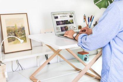 Crocamo+17+H+x+32+W+Standing+Desk+Conversion+Unit