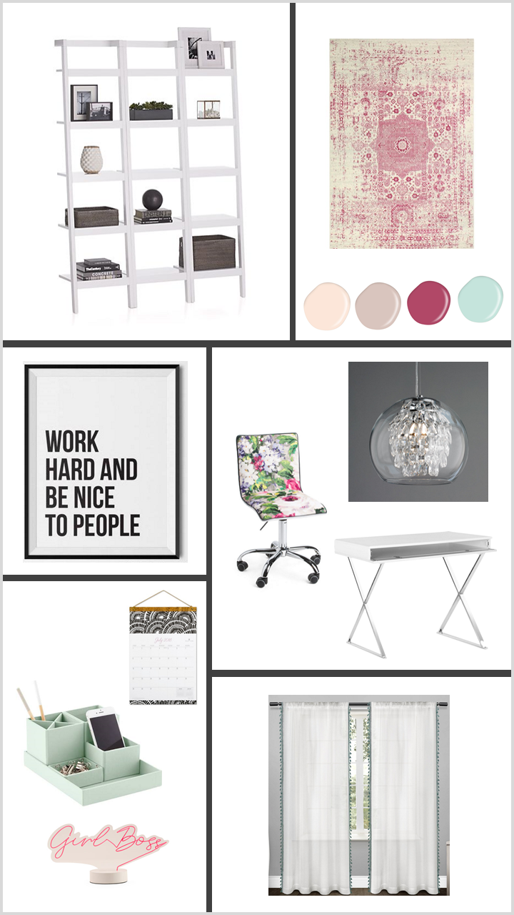 Simple Chic Home Office