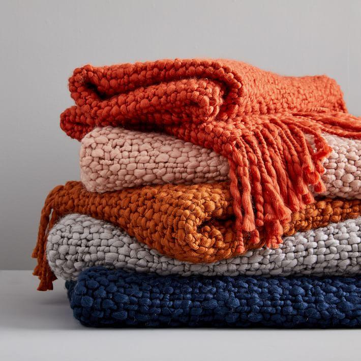 Basket Weave Throw Blanket