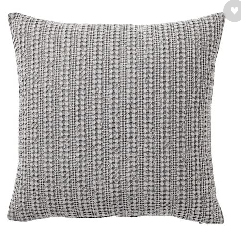 Pottery Barn pillow cover