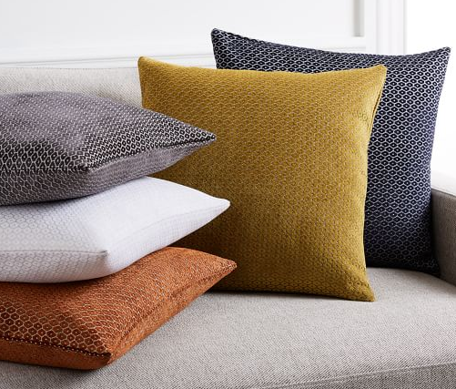 West Elm pillow covers