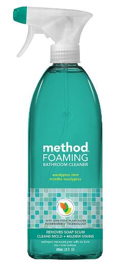Foam bath cleaner