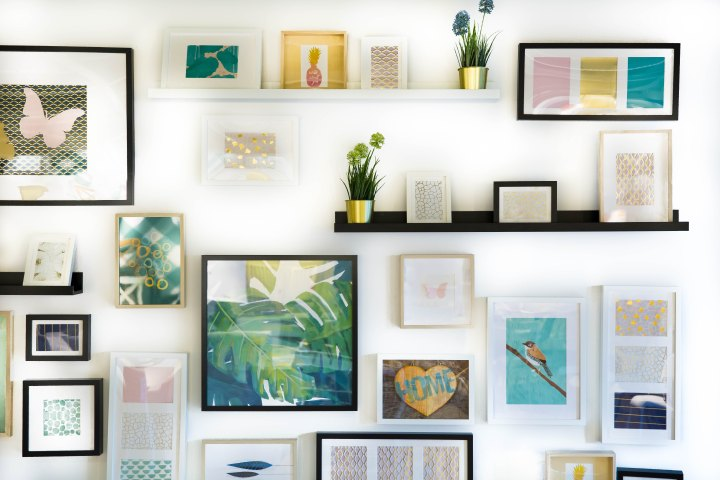Wall Collage tips and ideas.