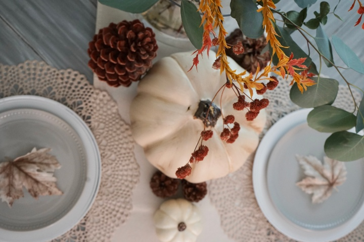 Fall Table Decor for November